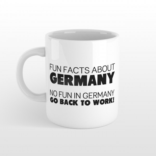 Tasse FUN FACTS GERMANY