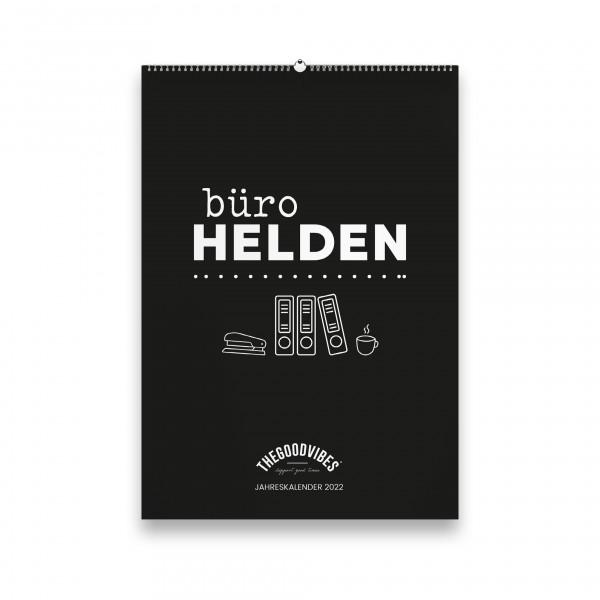 """Jahreskalender 2022 """"BÜROHELDEN"""""""