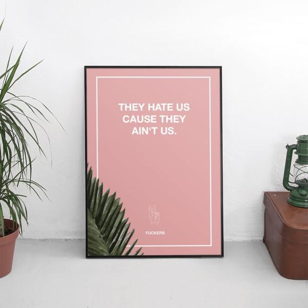 Motiv HATE US