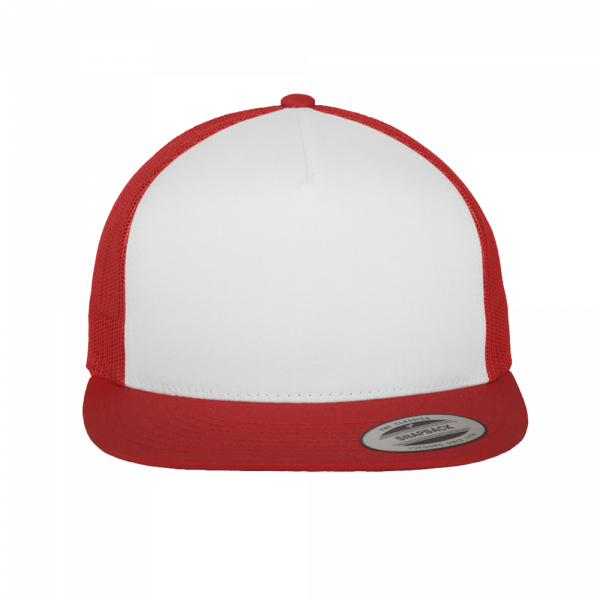 Flexfit Classic Trucker 6006W - Red-White-Red
