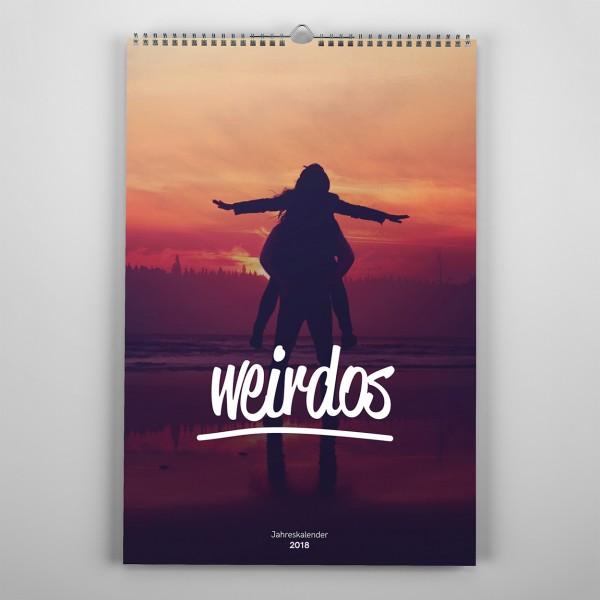 Jahreskalender 2018 - weirdos