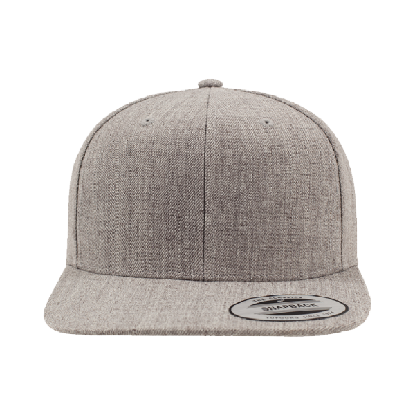 Flexfit Classic Snapback 6089M - allover heather grey