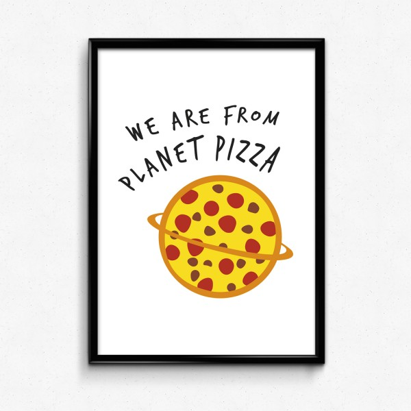 Motiv PLANET PIZZA
