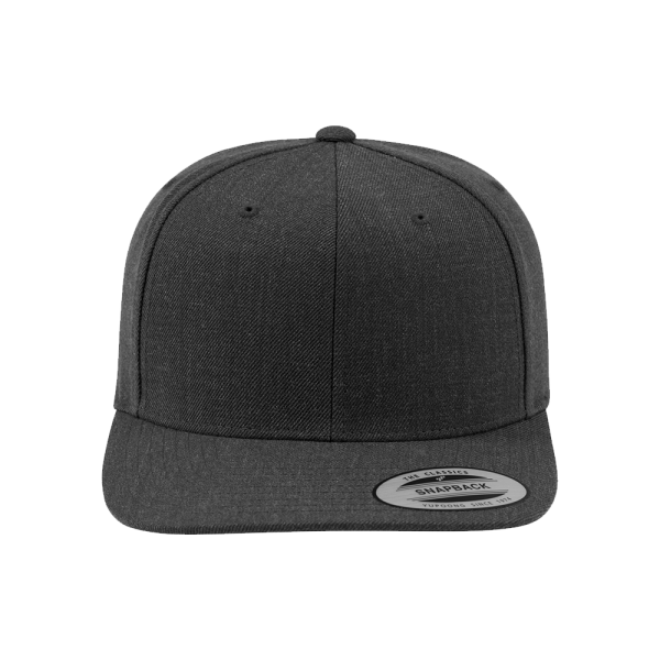 Flexfit Classic Snapback 6089M - allover darkgrey