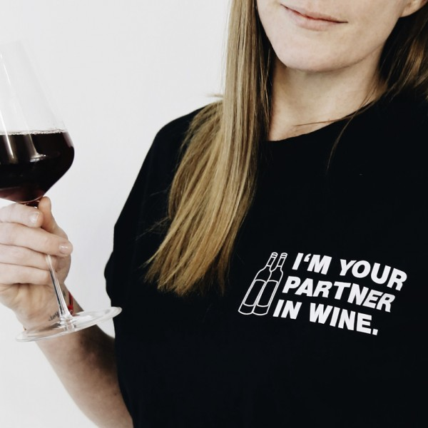 "Shirt ""PARTNER IN WINE"" Frauen"