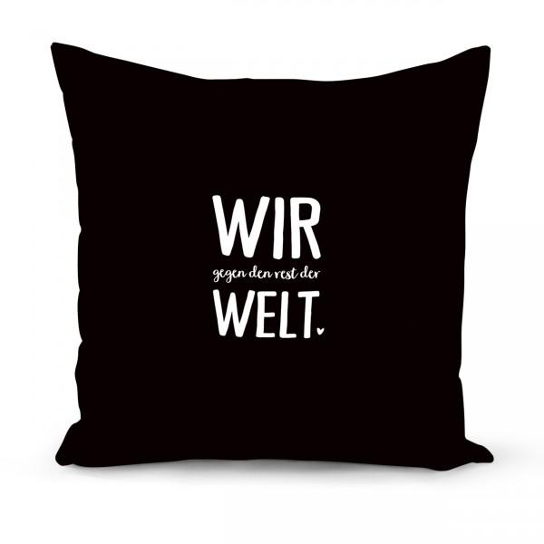 "Kissenbezug ""WIR"""