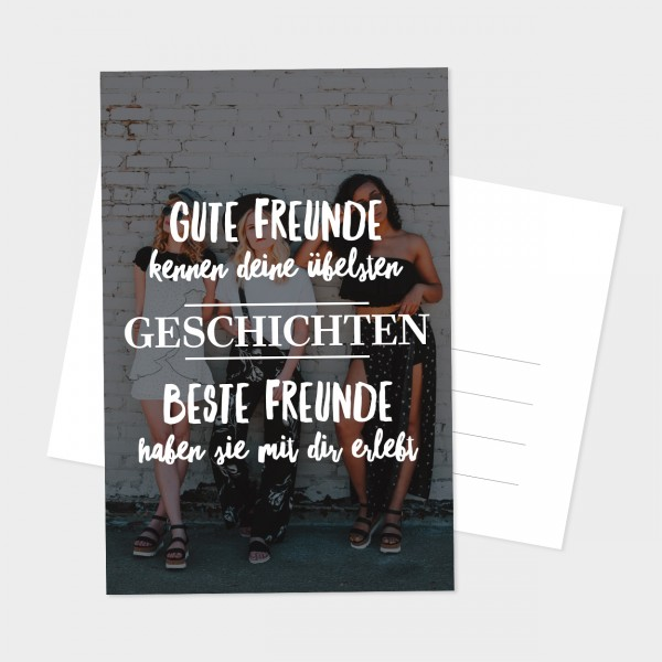 "Postkarte ""BESTE FREUNDE"""