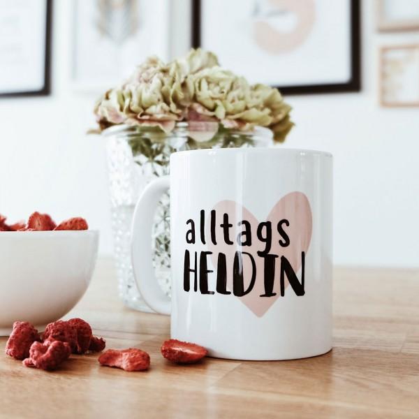 """Tasse """"ALLTAGSHELDIN"""""""
