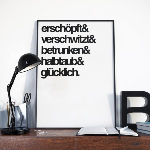 Motiv HALBTAUB & GLÜCKLICH