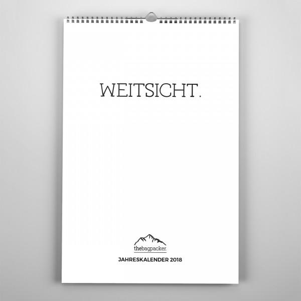 Jahreskalender 2018 - WEITSICHT