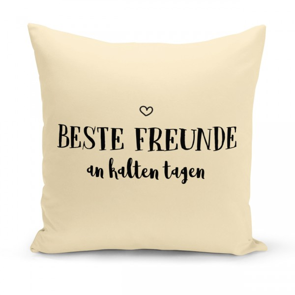 "Kissenbezug ""BESTE FREUNDE"""