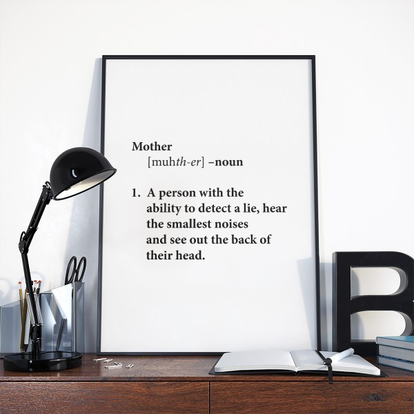 Muttertag Motiv A PERSON