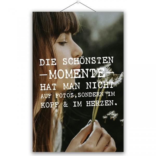 """Poster """"SCHÖNSTEN MOMENTE"""""""
