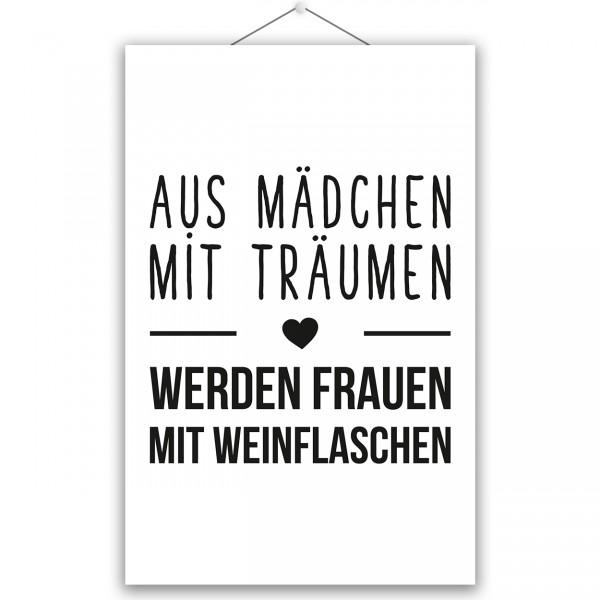 """Poster """"MÄDCHEN MIT TRÄUMEN"""""""