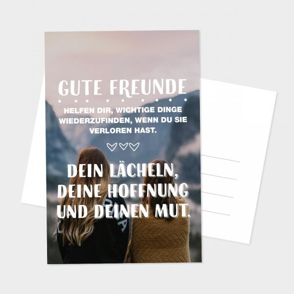 """Postkarte """"WICHTIGE DINGE"""""""