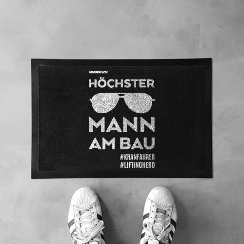 Fußmatte HÖCHSTER MANN