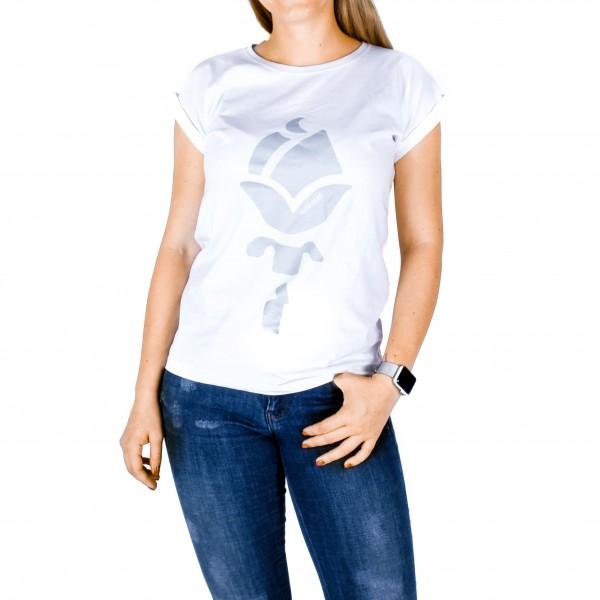 Shirt ROSE Frauen Silber