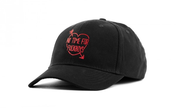 NO TIME FOR CURVED CAP BLACK