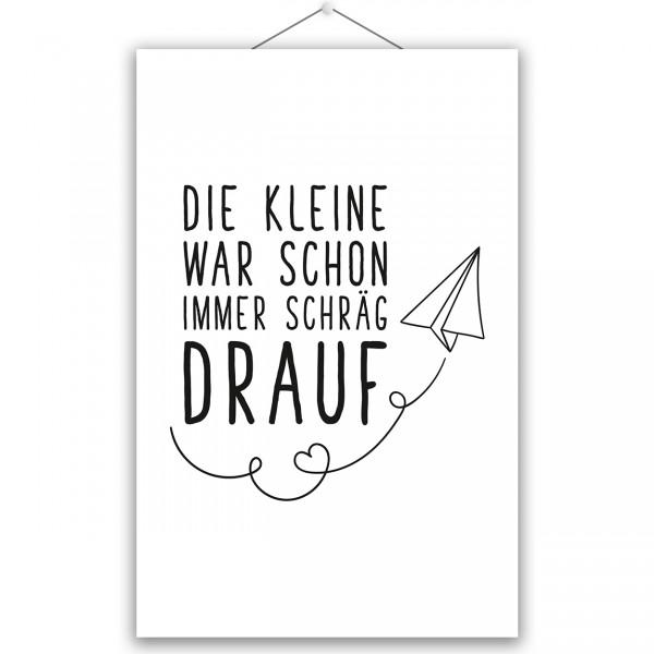 """Poster """"DIE KLEINE"""""""