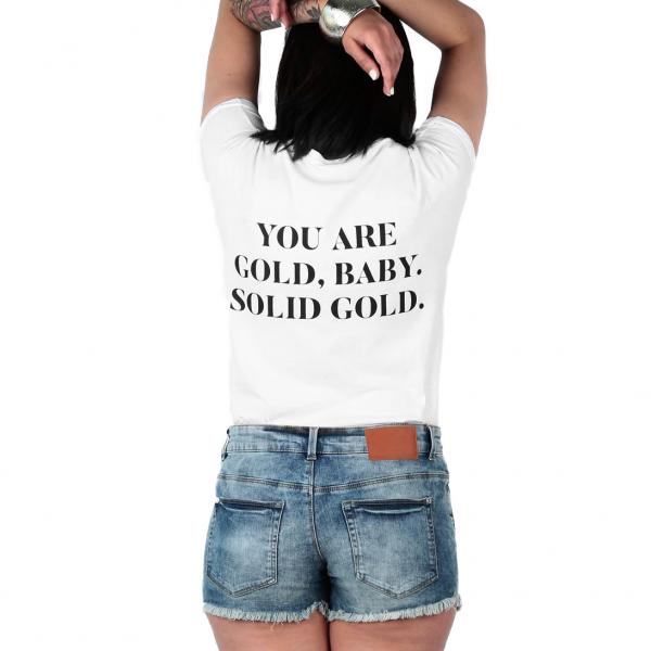 Shirt GOLD BABY Frauen