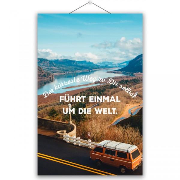 """Poster """"DIE WELT"""""""