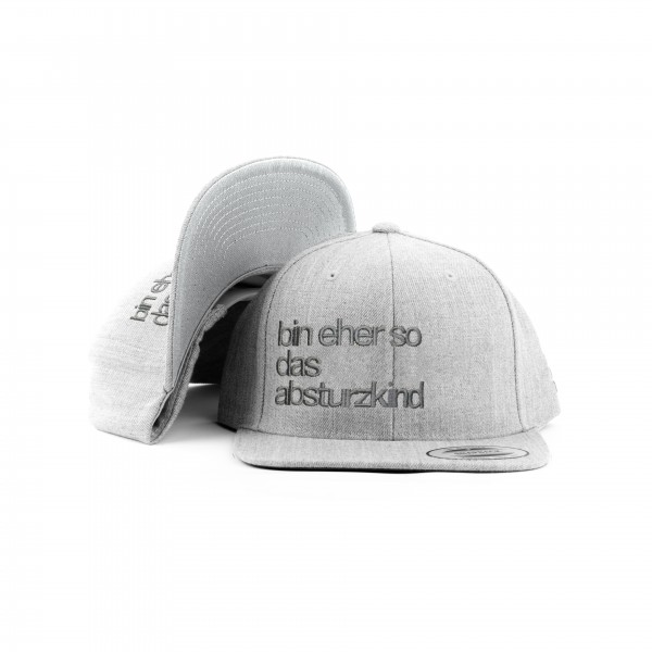 Snapback ABSTURZKIND All Heather