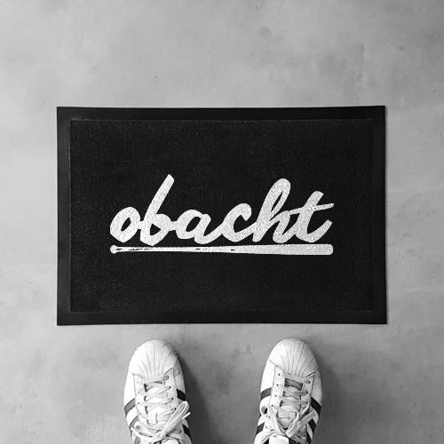 Fußmatte OBACHT