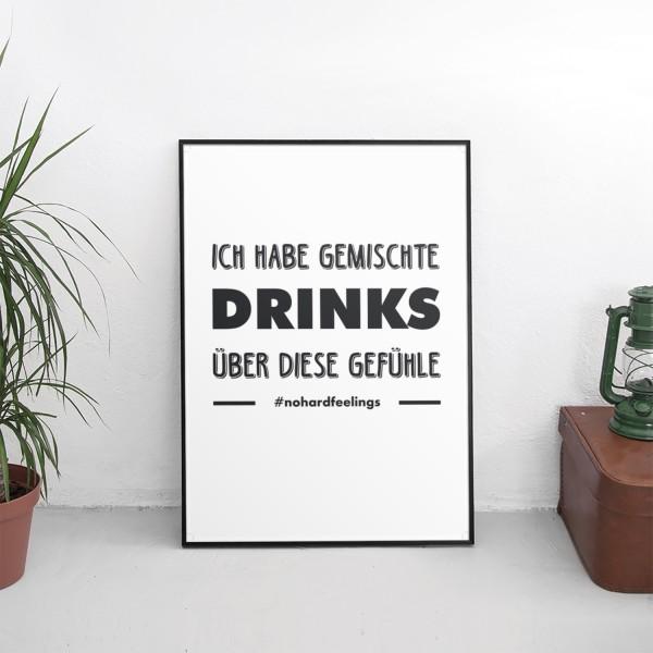"""Motiv """"GEMISCHTE DRINKS"""""""
