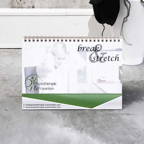 Tischkalender BREAK 'N' STRETCH