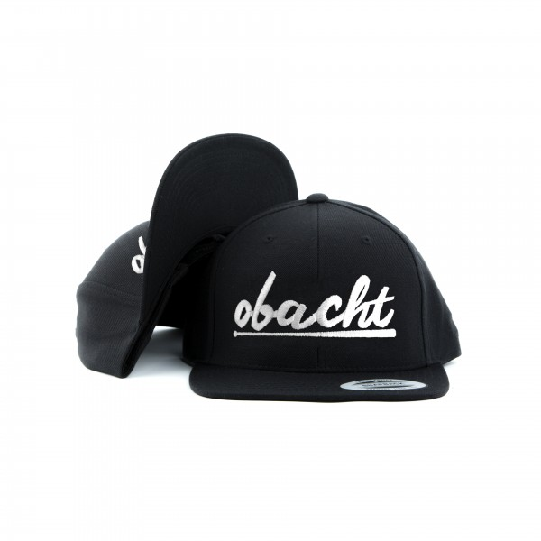 Snapback OBACHT All Black