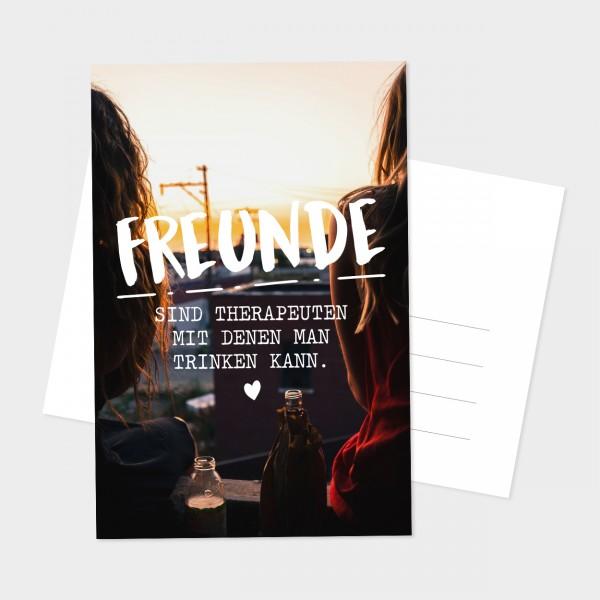 "Postkarte ""FREUNDE"""